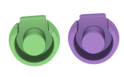 Sterngold Introduces the ERA RV Green & Purple Retentive Inserts for Partial Dentures