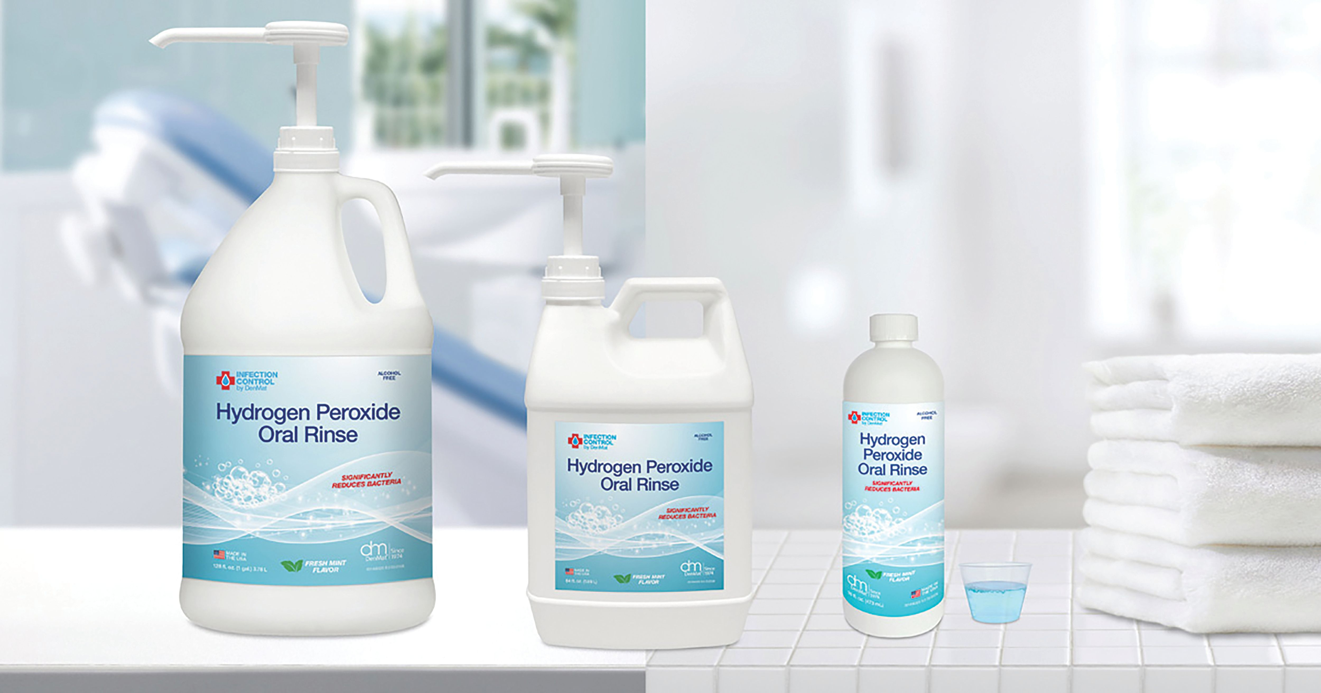 DenMat Hydrogen Peroxide Oral Rinse