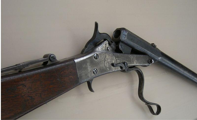 Maynard breechloading rifle
