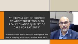 There's a lot of promise to apply these tools to really change quality of care for patients