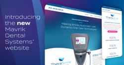 Mavrik Dental Systems Launches Redesigned Website