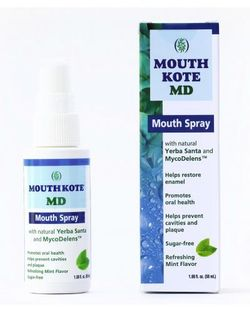 New Mouth Kote-MD said to be effective against SARS-CoV-2 virus