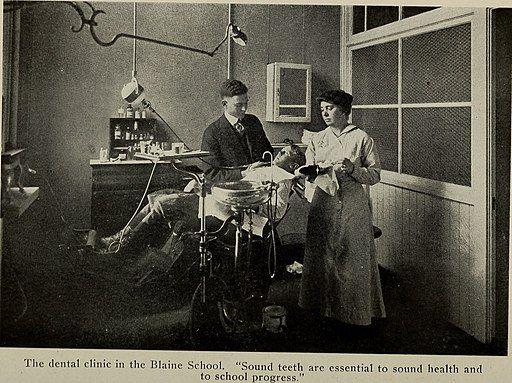 old dental operatory