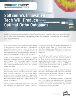 Free E-Book: SoftSmile's Innovative Tech Will Produce Optimal Ortho Outcomes