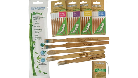 How one practice is using these toothbrushes to reduce plastic waste