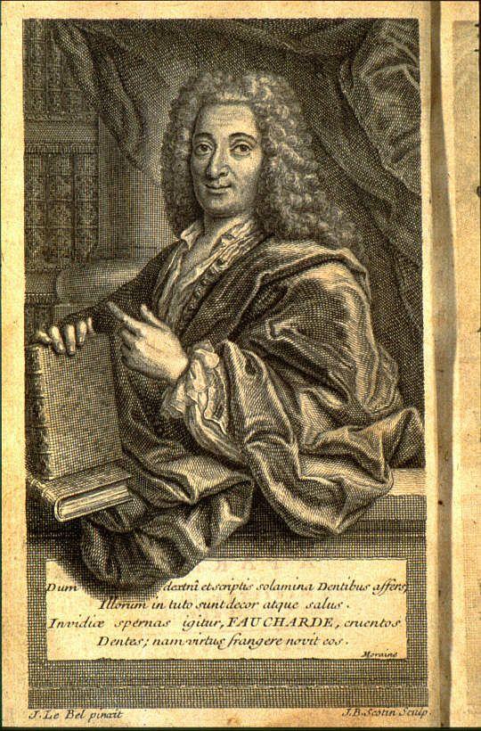Pierre Fauchard author of The Surgeon Dentist