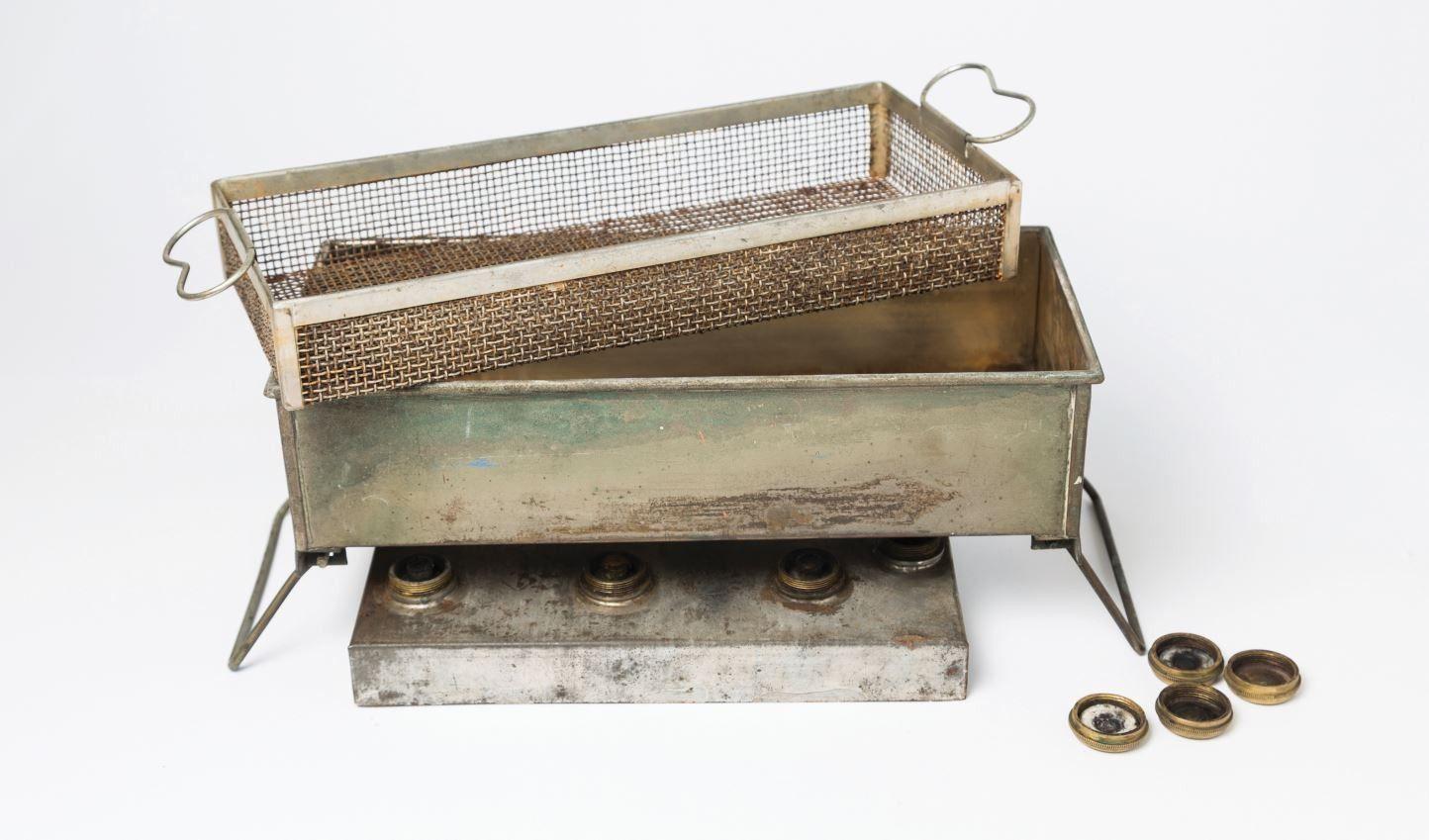 old dental instrument cleaner