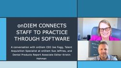 onDiem Connects Staff to Practice Through Software