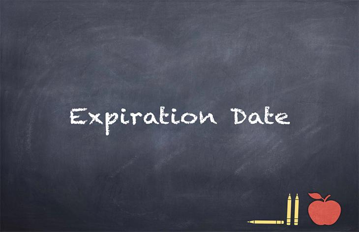 Sending Prescription Medications to a School –Expiration Date