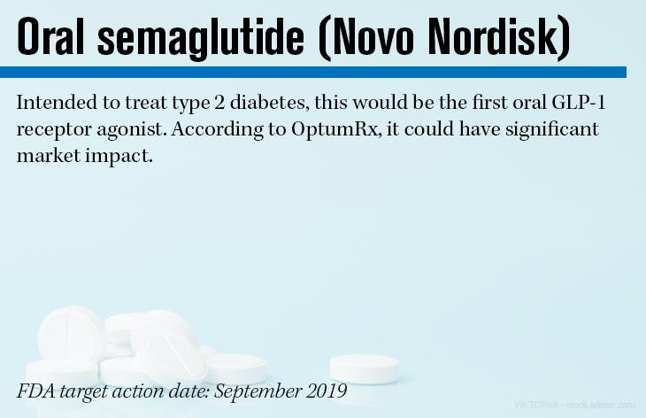 Oral semaglutide (Novo Nordisk)