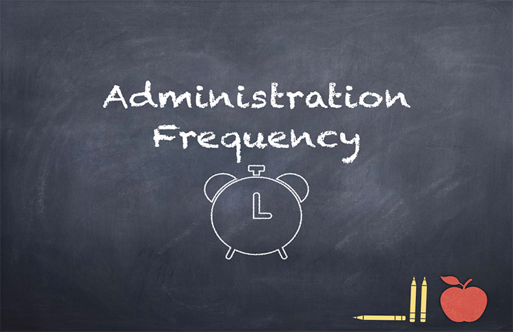 Sending Prescription Medications to a School –Administration Frequency