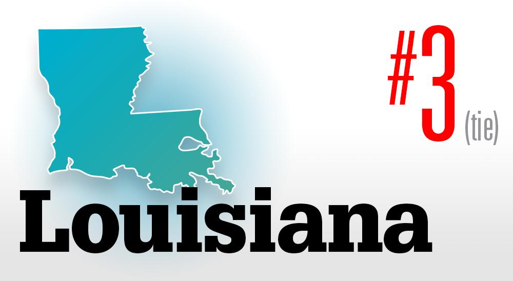 Number 3 Louisiana