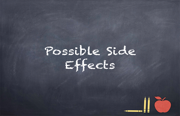 Sending Prescription Medications to a School –Possible Side Effects