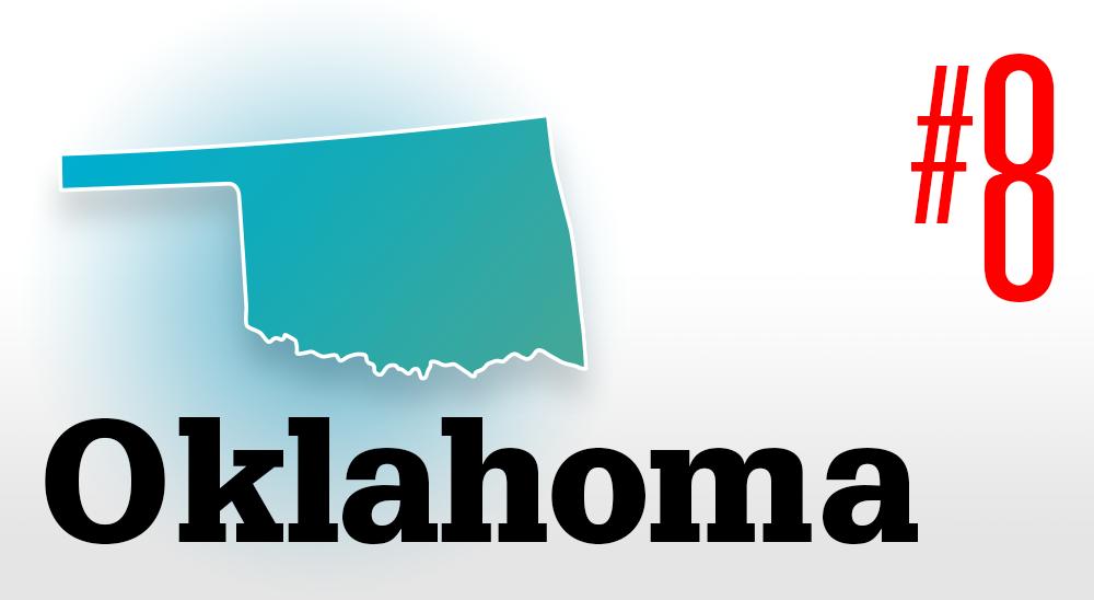 Number 8 Oklahoma