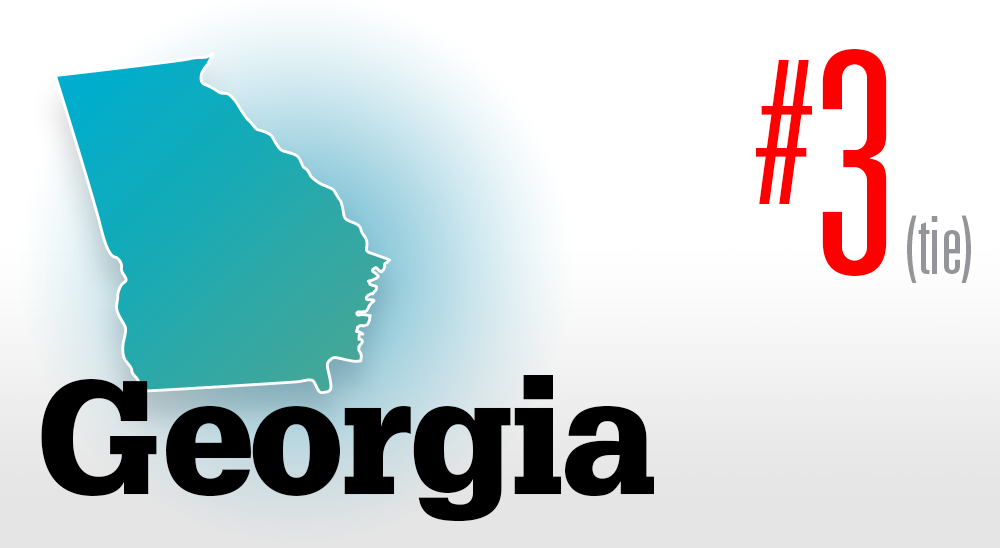 Number 3 Georgia