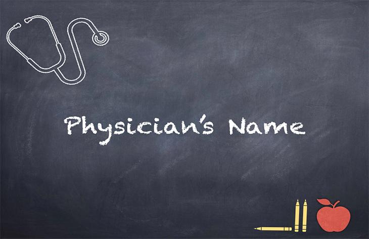 Sending Prescription Medications to a School –Physician's Name