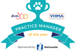 Nominations now open for dvm360®/VHMA Practice Manager of the Year award