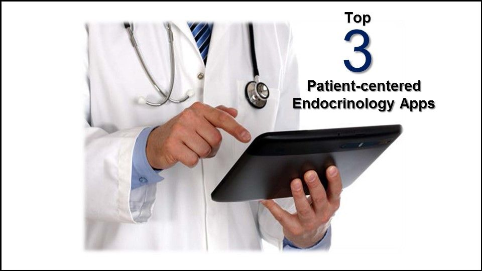Top endocrinology apps for patients, mobile applications, diabetes, thyroid