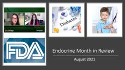 Endocrine Month in Review: August 2021