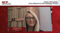 Atopic Dermatitis: Early Referral to Dermatology Clinics