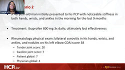 Case Study 2: Rheumatoid Arthritis Patient Case Overview and Therapeutic Goals