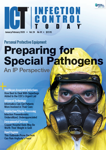 Infection Control Today January/February 2020 Vol. 24 No. 1