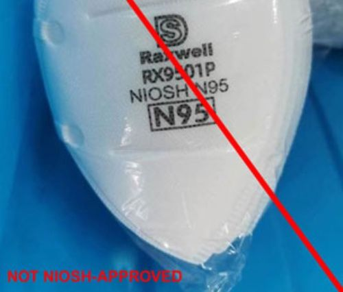Don't Be Fooled: CDC Website Posts Photos of Counterfeit N95 Masks ...