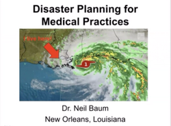 Disaster planning for medical practices