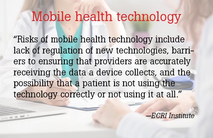 Mobile health technology
