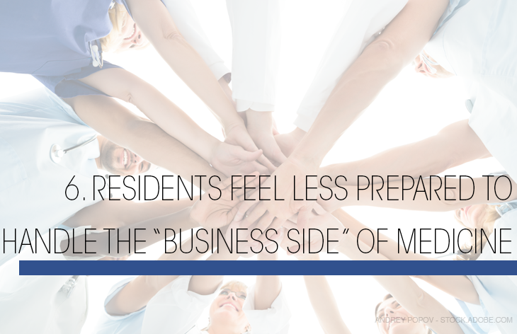 Residents less prepared to handle business side