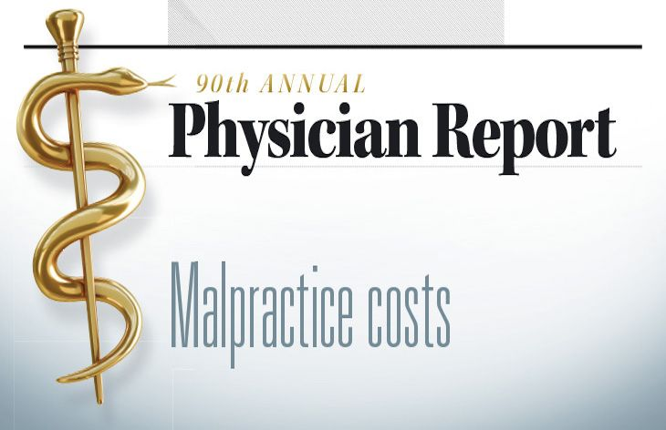 90th annual Physician Report: How much doctors spend on malpractice insurance