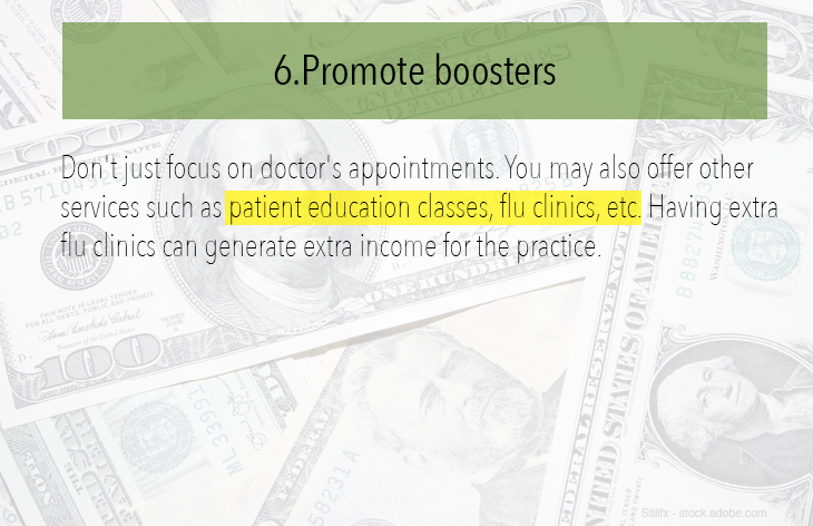 Promote boosters