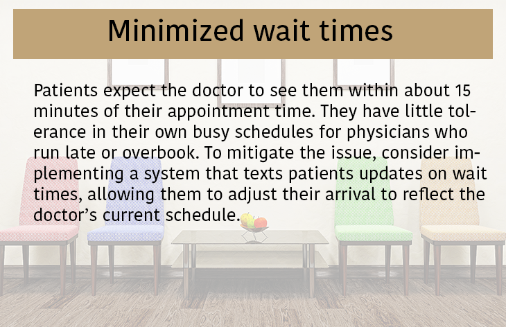 Minimized Wait Times