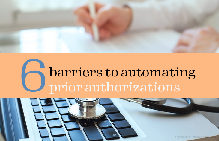 6 barriers to automating prior authorizations