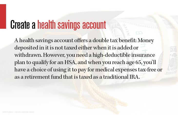 Create a health savings account