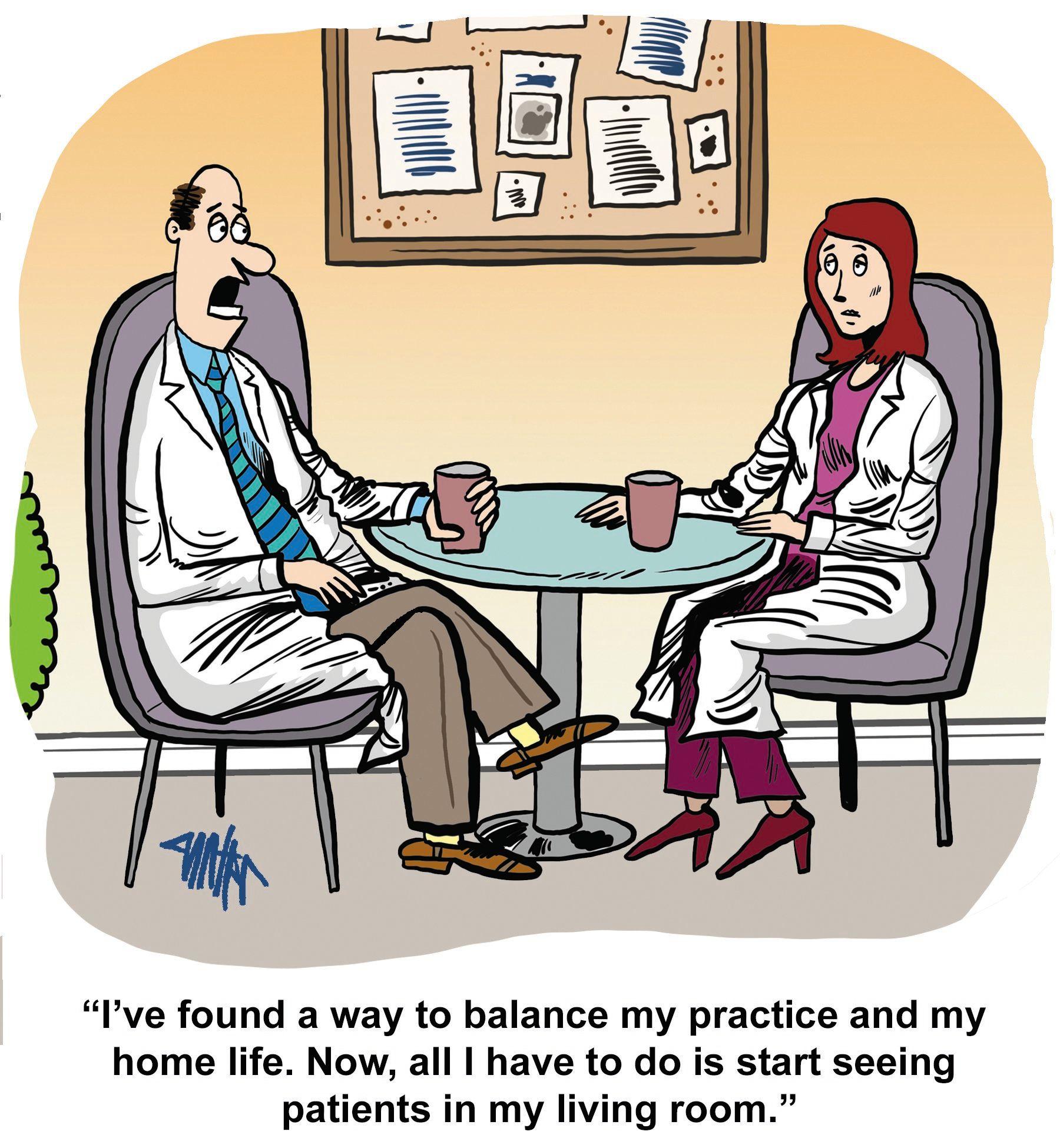 Funny Bone: Work-life balance