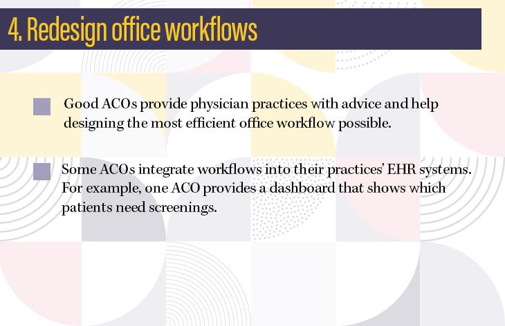 4. Redesign office workflows