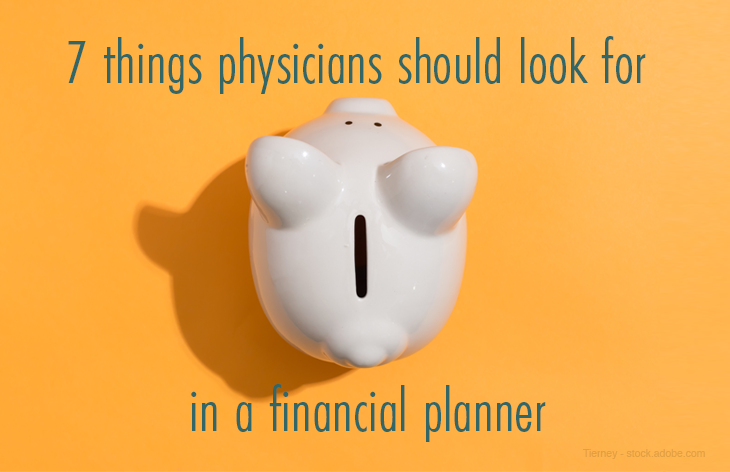 Financial planner cover