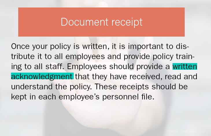 Document Receipt