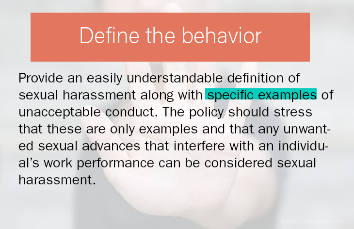 Define the behavior