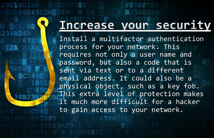 Increase your security