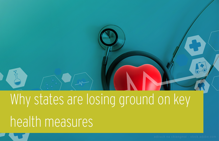 Why states are losing ground on key health measures
