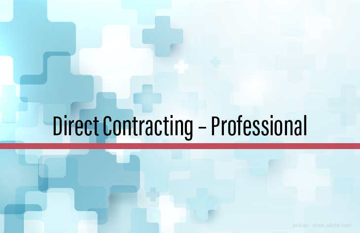 Direct contracting professional