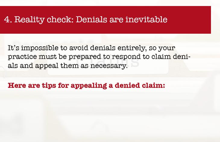 Reality check: denials are inevitable