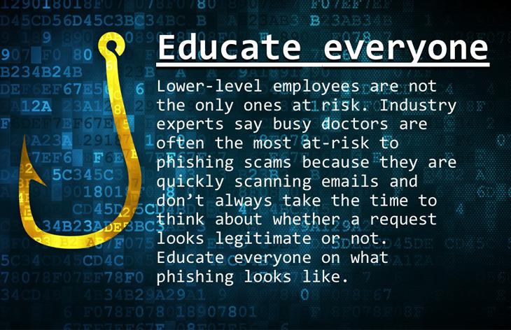 Educate everyone