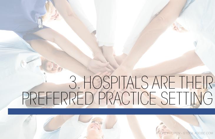 Hospitals preferred setting