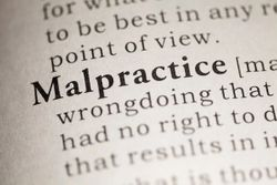 What to do if you are sued for malpractice