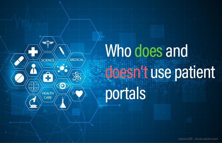 Who does and doesn't use patient portals