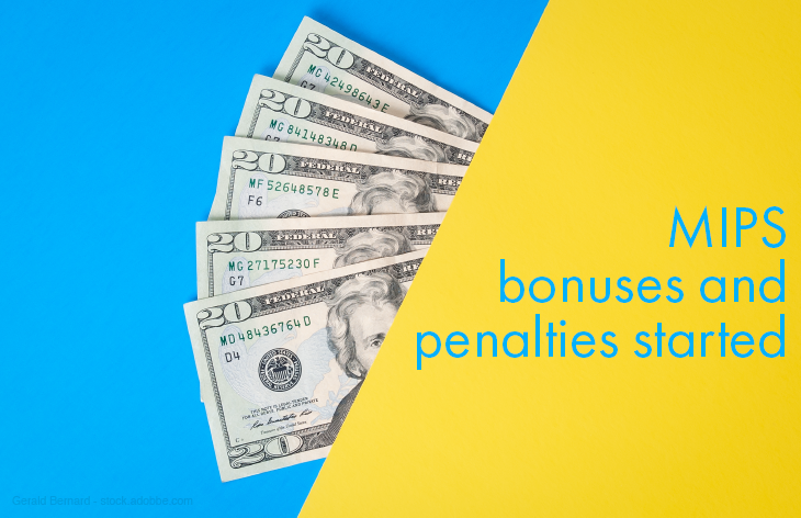 MIPS bonuses and penalties started