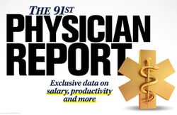 Physician salary data 2020: Exclusive report on how much physicians earn